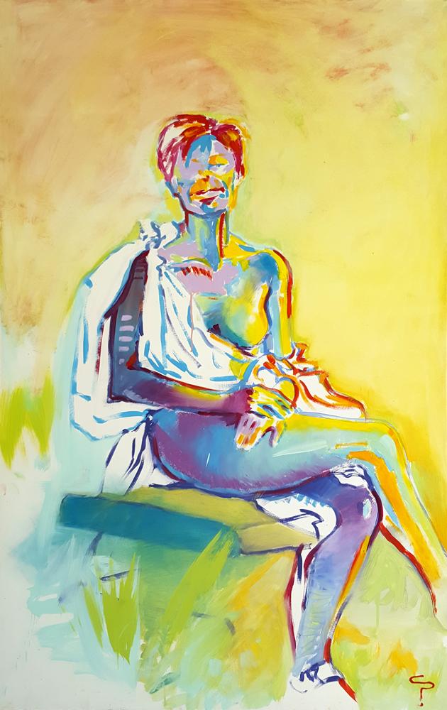 Claude Pelet Artiste Peintre - Figure - Dernier passage