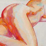 Claude Pelet Artiste Peintre - Nus - Belle alanguie