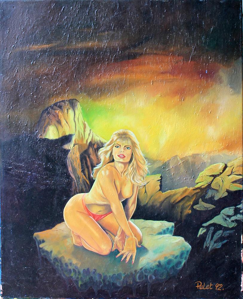Claude Pelet Artiste Peintre - Nus - Etude lumière