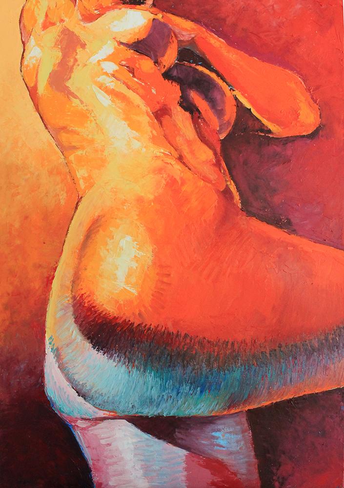 Claude Pelet Artiste Peintre - Nus - Faux Semblants