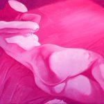 Claude Pelet Artiste Peintre - Nus - Jeu de cache-cache