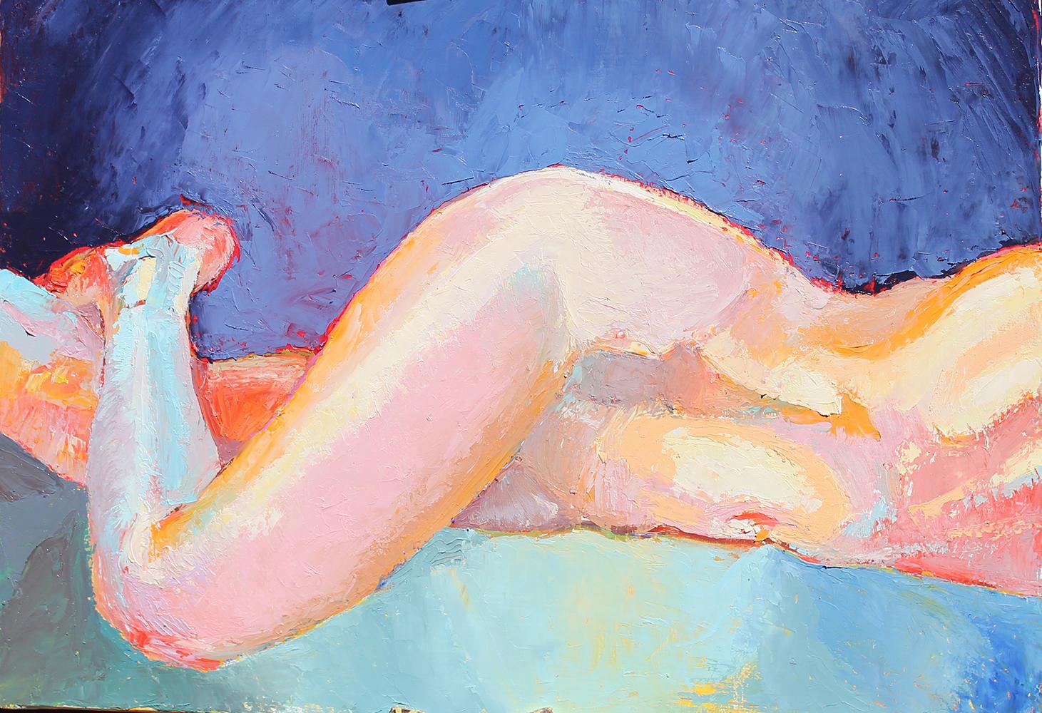 Claude Pelet Artiste Peintre - Nus - Paix