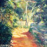 Claude Pelet Artiste Peintre - Chemin d'enfance