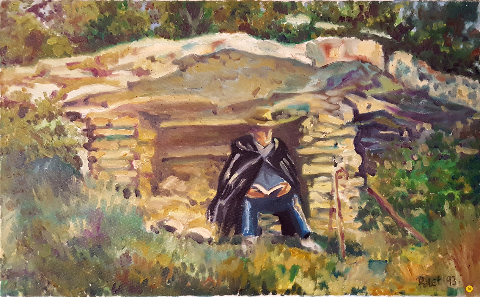 Claude Pelet Artiste Peintre - Le petit abri