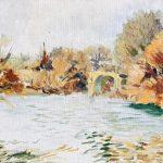Claude Pelet Artiste Peintre - Le Pont Romain