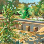 Claude Pelet Artiste Peintre - Passage à guet