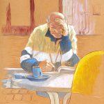 Claude Pelet Artiste Peintre - Portrait - Cruciverbiste