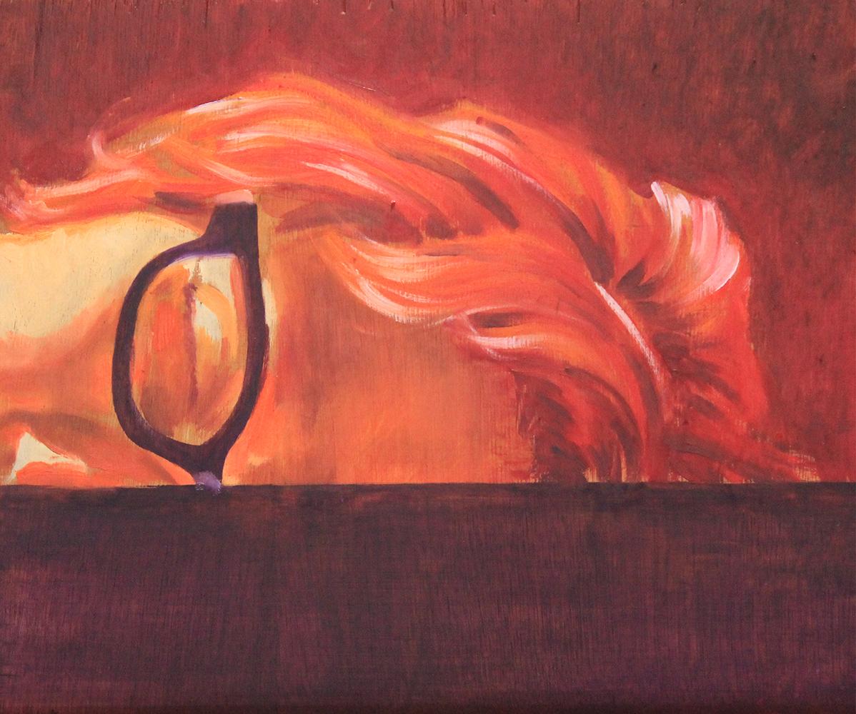 Claude Pelet Artiste Peintre - Portrait - Elle