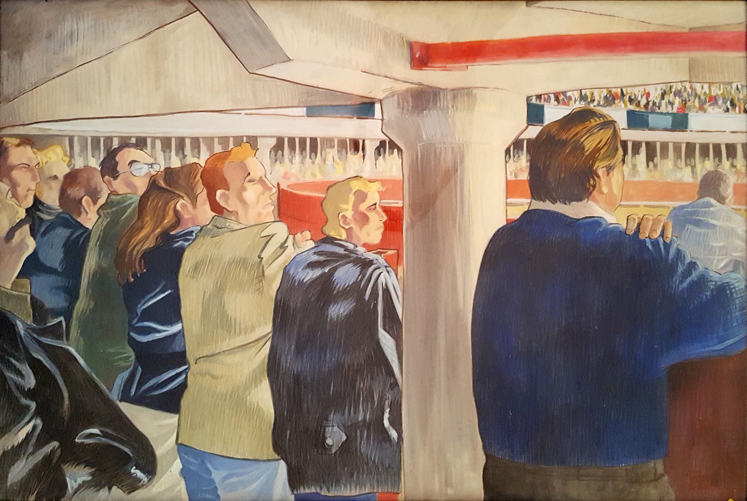 Claude Pelet Artiste Peintre - Portrait - Sous les travettes