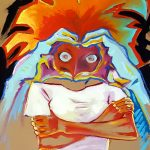 Claude Pelet - Artiste Peintre - Symbolisme - Autruche