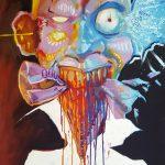 Claude Pelet - Artiste Peintre - Symbolisme - Burn out