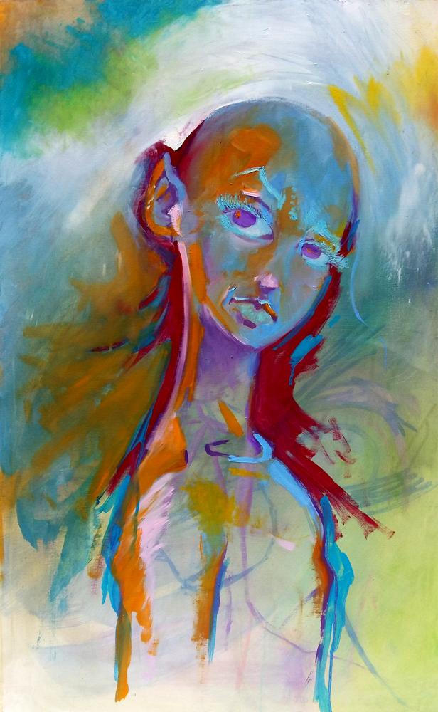Claude Pelet - Artiste Peintre - Symbolisme - Doute