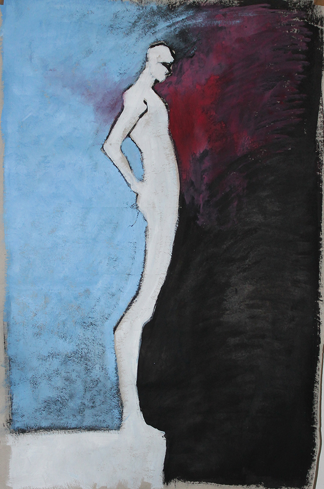 Claude Pelet - Artiste Peintre - Symbolisme - Le Choix