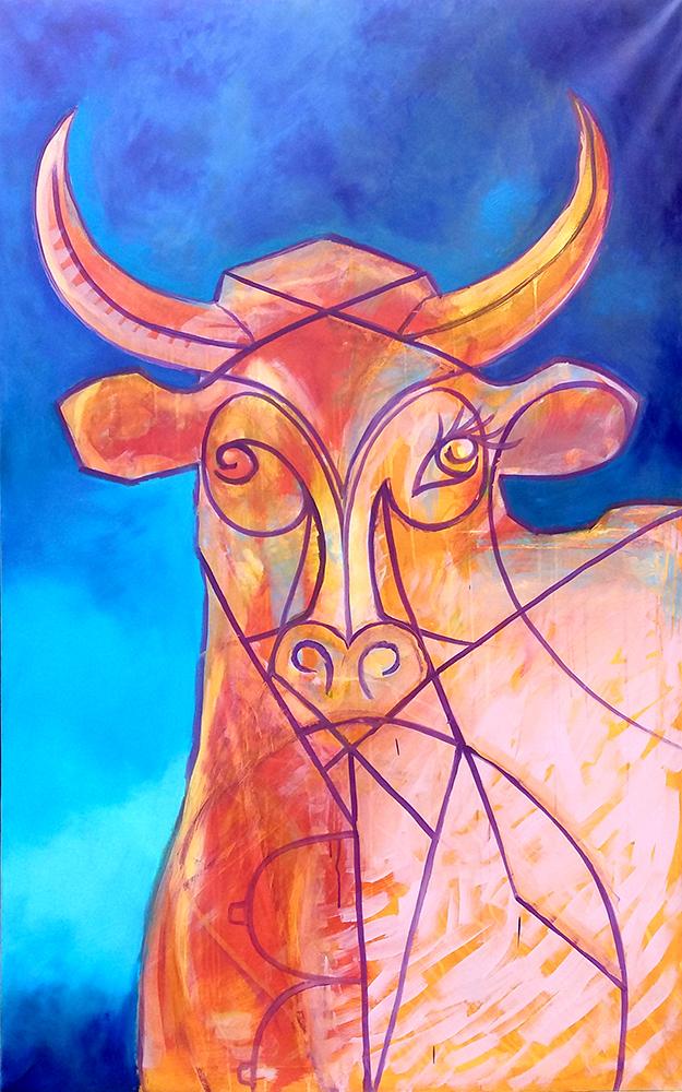 Claude Pelet - Artiste Peintre - Symbolisme - Mithra