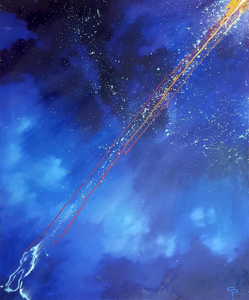 Claude Pelet - Artiste Peintre - Symbolisme - Réponse cosmique