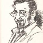 Claude Pelet Dessinateur - Croquis - Autoportrait 01