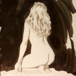 Claude Pelet Dessinateur - Nus - Etude de nus au lavis