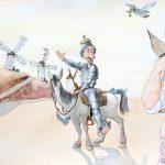Claude Pelet Dessinateur - Humour - Don Quichotte