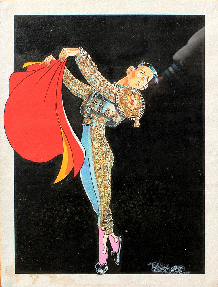 Claude Pelet Dessinateur - Humour - La danseuse