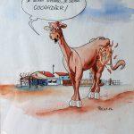 Claude Pelet Dessinateur - Humour - Marqué au fer
