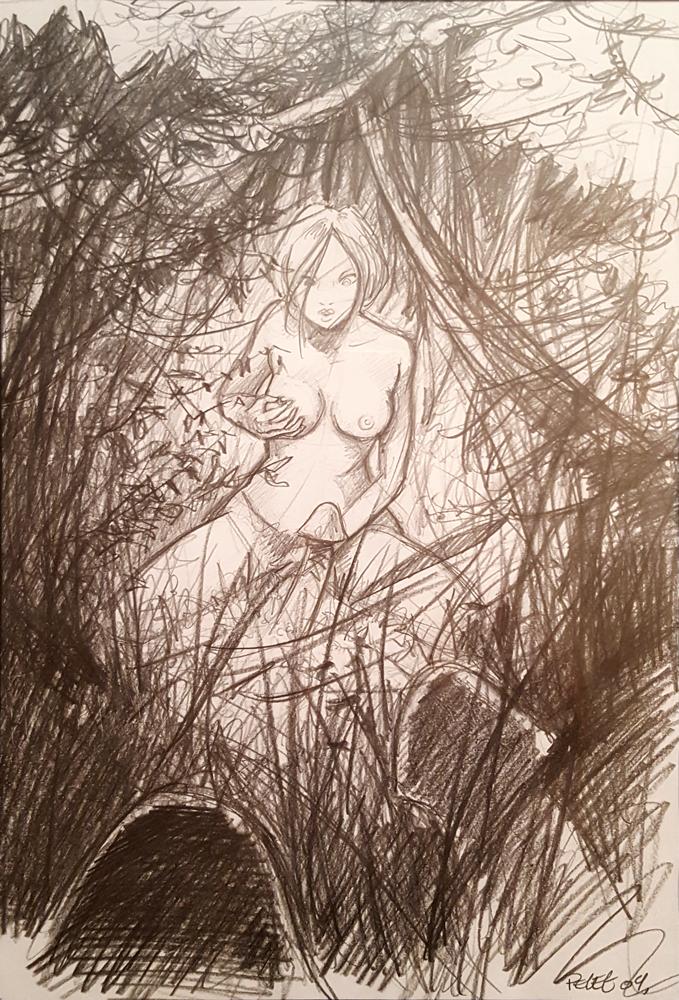 Claude Pelet Illustrateur - Découverte champêtre