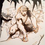 Claude Pelet Illustrateur - Homo gorillus