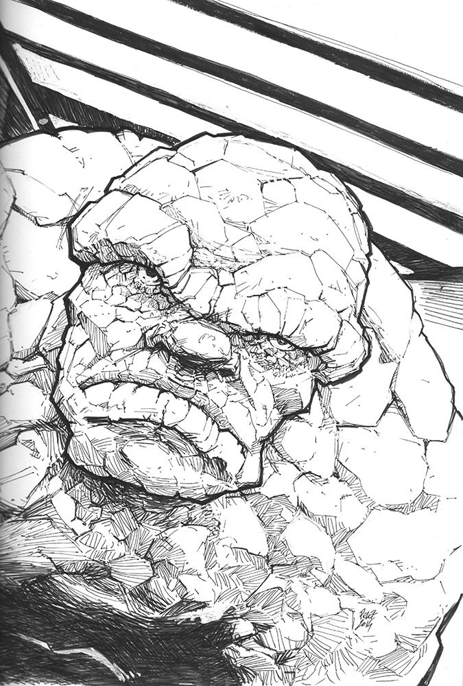 Claude Pelet Illustrateur - The Thing