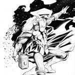 Claude Pelet Illustrateur - Thor (final)