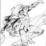 Claude Pelet Illustrateur - Thor (croquis)