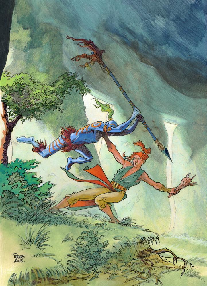 Claude Pelet Illustrateur - Zef'Hir (couleur)