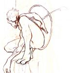 Claude Pelet Illustrateur - Diablo (croquis)