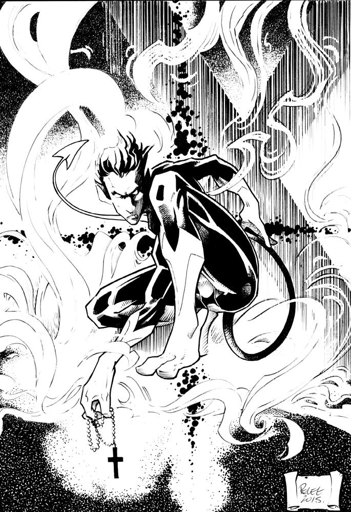 Claude Pelet Illustrateur - Diablo (final)