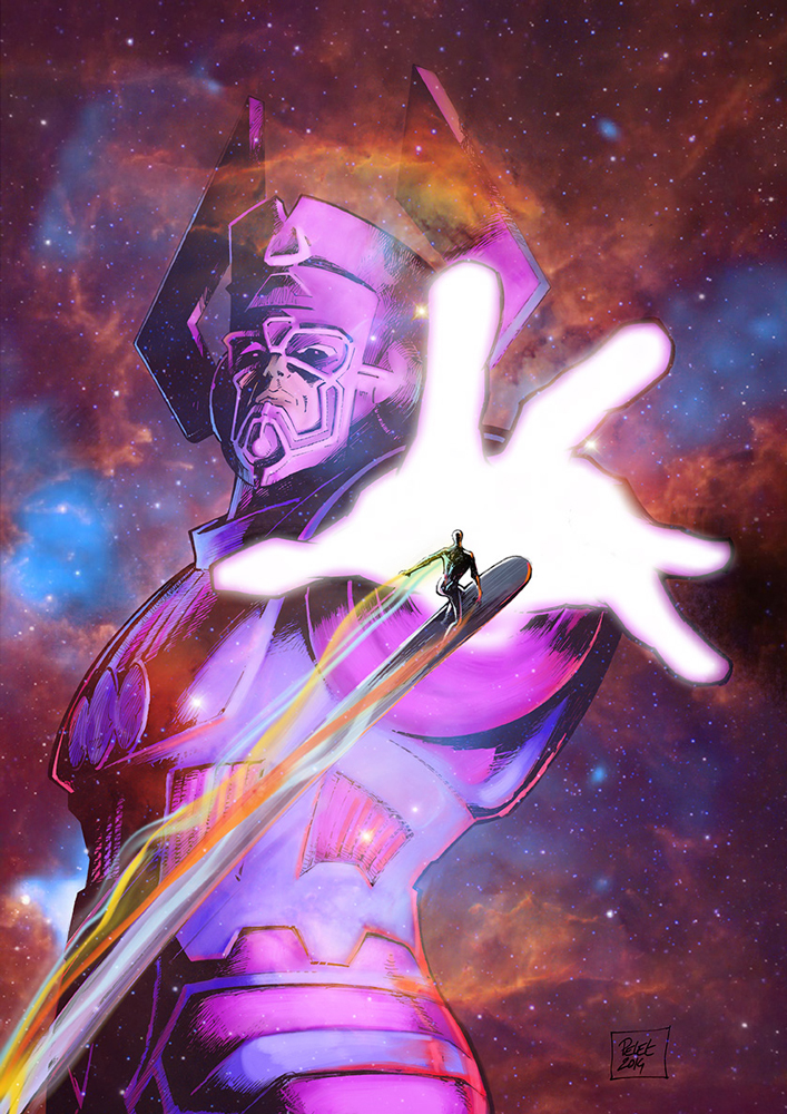 Claude Pelet Illustrateur - Galactus (couleur 1)