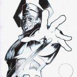 Claude Pelet Illustrateur - Galactus (croquis)