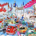 Claude Pelet Illustrateur - Les vacances à Tignes