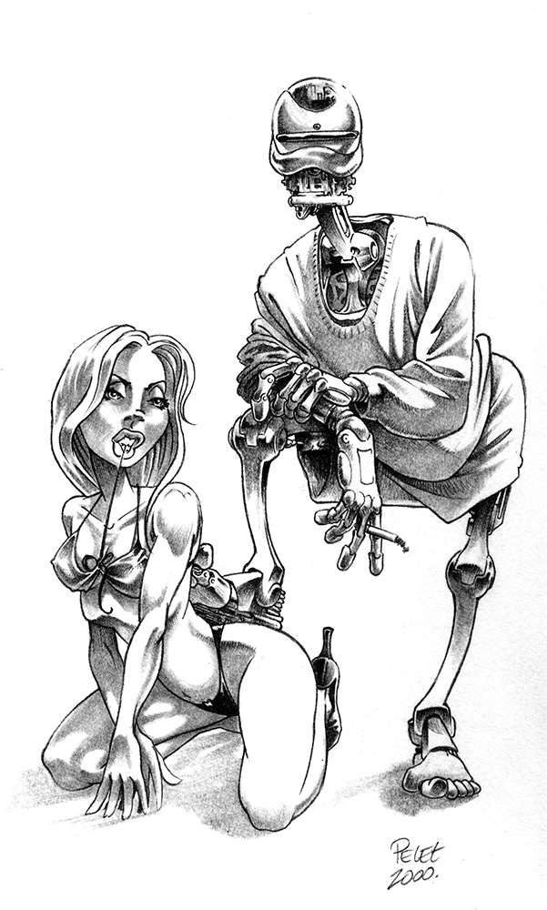 Claude Pelet Illustrateur - Mac