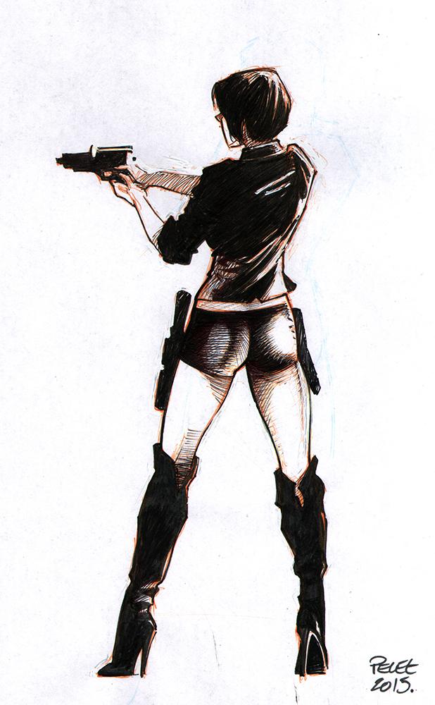 Claude Pelet Illustrateur - Weapon