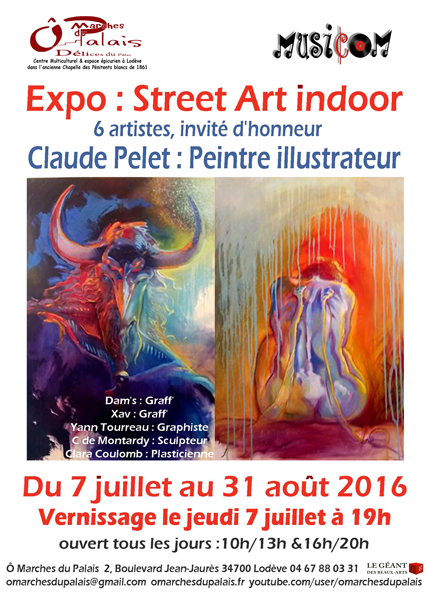 "Exposition ""Street Art Indoor"""