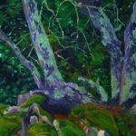 Claude Pelet Artiste Peintre - Chêne vert