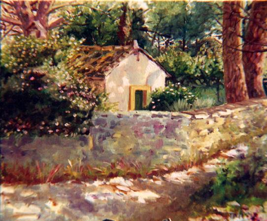 Claude Pelet Artiste Peintre - Mazet du papet Tourreau