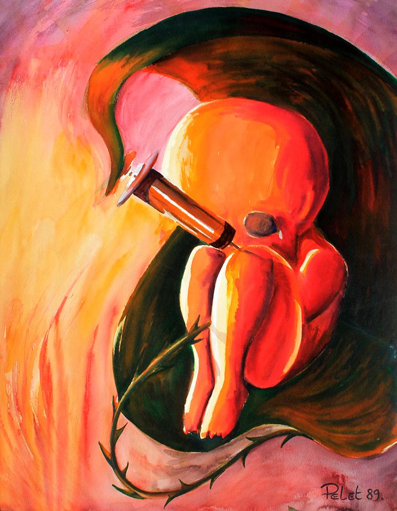 Claude Pelet - Artiste Peintre - Symbolisme - Accro