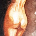 Claude Pelet Dessinateur - Aquarelle - Nus - Ombre