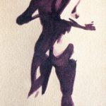 Claude Pelet Dessinateur - Aquarelle - Nus - Vers la lumière