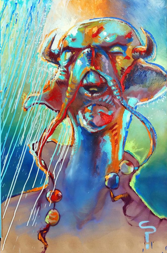 Claude Pelet Artiste Peintre - Fantasy - C'est comme ça !